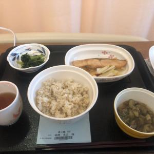 (病院食ログ)今回の1食目(月曜日昼食)