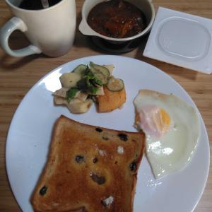10月13日  朝食、お弁当🍱