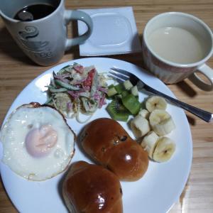 10月16日  朝食、お弁当🍱