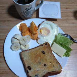 10月23日  朝食、お弁当🍱
