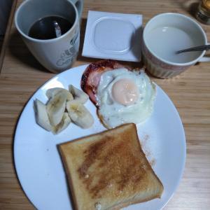 1月18日  朝食、お弁当🍱