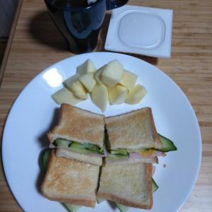 4月8日  朝食、お弁当🍱