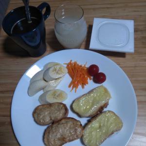 8月4日  朝食、お弁当🍱