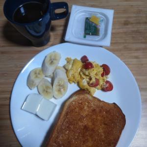 8月7日  朝食、お弁当🍱