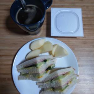 8月12日  朝食、お弁当🍱