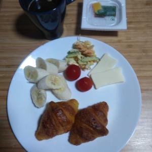 9月18日  朝食、お弁当🍱