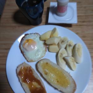9月23日  朝食、お弁当🍱