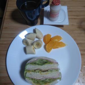 9月30日  朝食、お弁当🍱