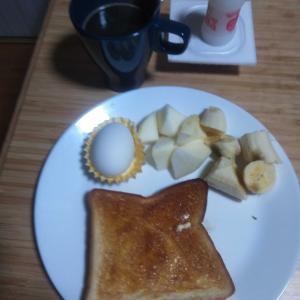 10月1日  朝食、お弁当🍱