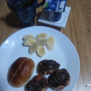 10月26日  朝食、お弁当🍱