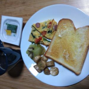 1月21日  朝食、お弁当🍱