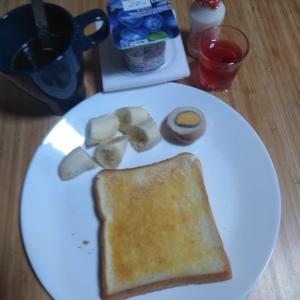 6月18日  朝食、お弁当🍱