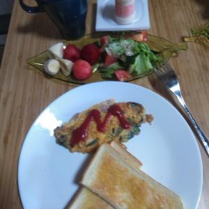 6月21日  朝食、おやつ、夕食