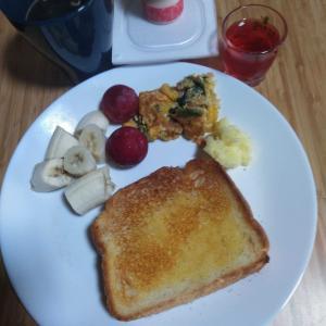 6月24日  朝食、お弁当🍱