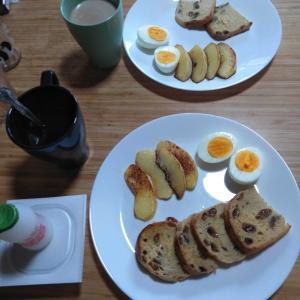 7月22日  朝食