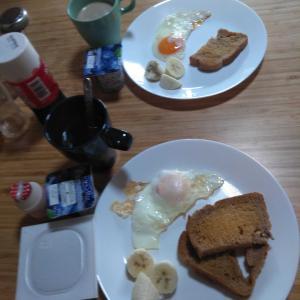 7月31日  朝食、お昼ごはん
