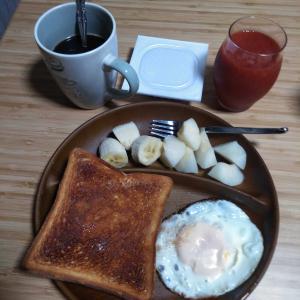 8月19日  朝食、お弁当🍱