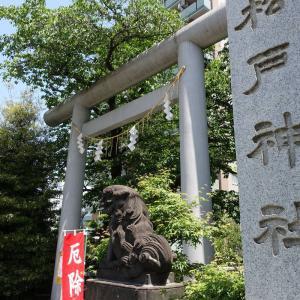 古事記の神様と神社・ご近所編Part3(12)~松戸神社~ヤマトタケルが部下を待った地