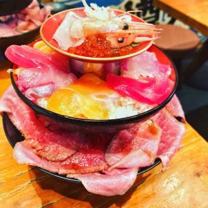 トレーニング終わりには嬉しい 高タンパク丼! 大阪食べ歩きvol12 海鮮居酒屋のぶちゃん