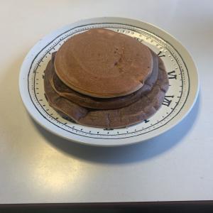 たった3つの材料でできる簡単プロテインパンケーキ!気分転換でパンケーキにしたら美味しかった件🤤