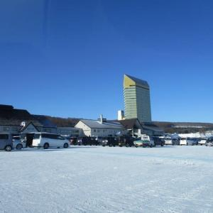 ④ 安比高原スキー場(2020.1.19)