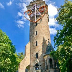 【マールブルク観光】カイザー・ヴィルヘルム塔 森の中のおとぎ話の塔