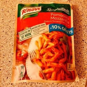 【KNORR】クノールのインスタント・パスタが簡単に作れて美味しかったのでまた買いたい件