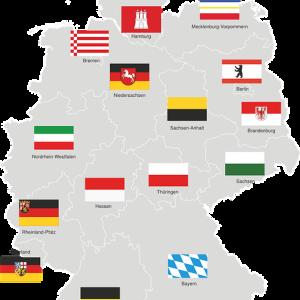 【ドイツ連邦16州】州名・州都・略語一覧