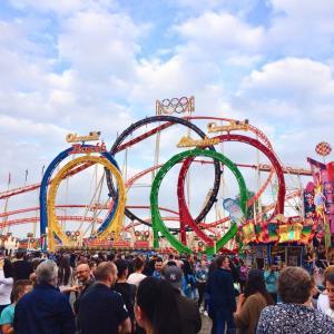 【キルメス2019】デュッセルドルフのライン川最大の移動式遊園地は…ヤバい!