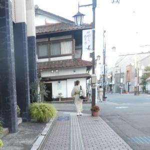 山代温泉街を朝散歩♪