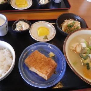 豊富な水で美味しい豆腐のお料理♪