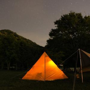 夜景が綺麗!創造の森キャンプ場へ行ってきました。