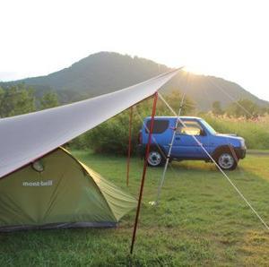 夏休み最終キャンプ!無印良品津南キャンプ場 (2日目)