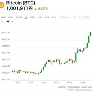 ビットコイン100万円越え。2019年今後の値動きはどうなる?【仮想通貨】