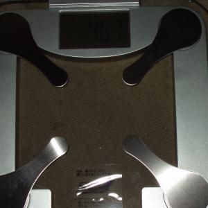 体重が激減、50kgを割った