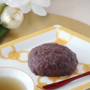 ◆優しい甘さのぼた餅◆ポーセラーツdeティータイム4月