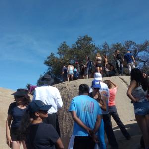 サンディエゴ観光 - Potato Chip Rock(ポテトチップロック)
