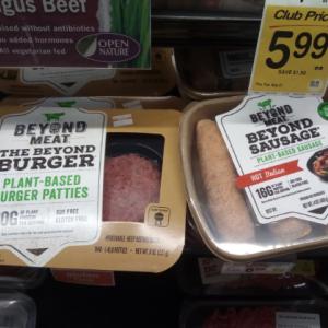 ベジタリアン用の人工肉 The Beyond Burger(ビヨンドバーガー)