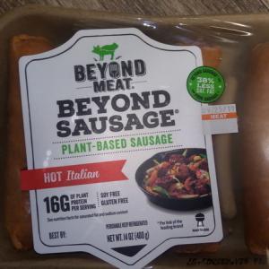 ベジタリアン用の人工肉② Beyond Sausage(ビヨンドソーセージ)