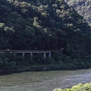 暑かった日の三江線