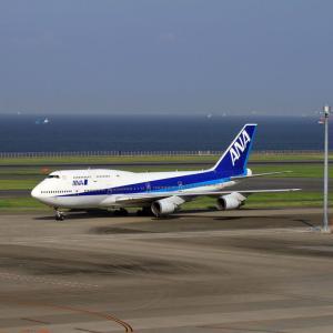 B747 2012年の羽田で
