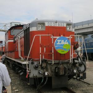 貨物フェスティバルのDD51 852 2014