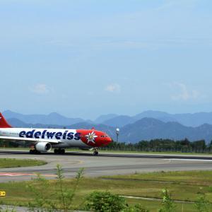 Edelweiss Air  が来た夏