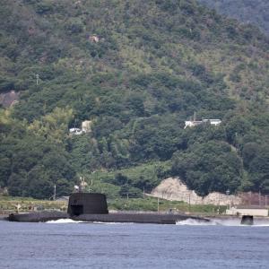 潜水艦SSです
