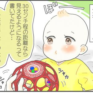 赤ちゃんの視力【育児漫画】