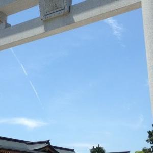 晴れ晴れとした広島護国神社