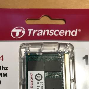結局 ThinkPad X260のメモリを交換してしまいました。