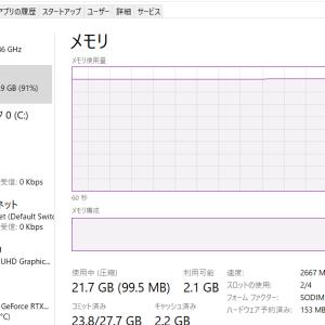 ガレリアGCR2070RGF-QCにメモリを増設してみます。