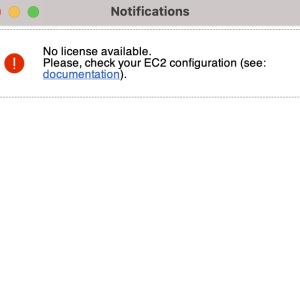 AWSのNICE-DCVのライセンス設定を行う