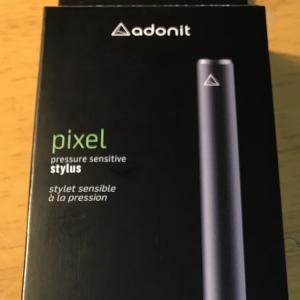Adonit PIXEL というスタイラスを買いました